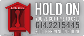 Suicide Prevention Hotline \\ 1-614-221-5445